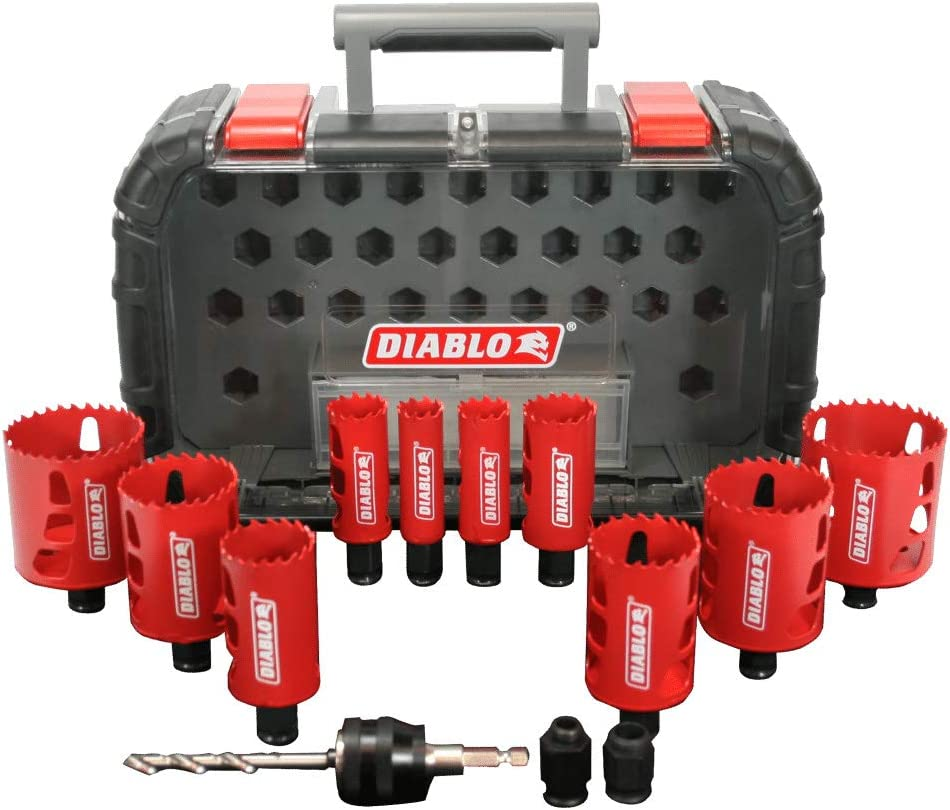 9. Diablo DHS14SGP Hole Saw Kit