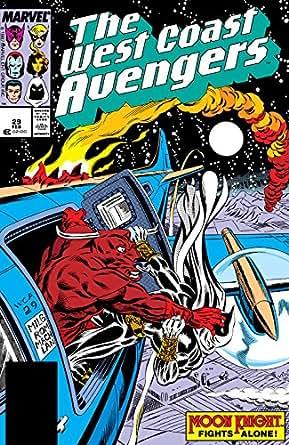 Amazon.com: Avengers West Coast (1985-1994) #29 eBook: Steve ...