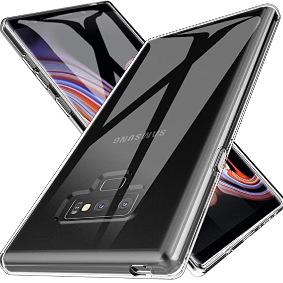 official photos 16b94 17b29 LK Case for Galaxy Note 9, Ultra [Slim Thin] Scratch Resistant TPU Rubber  Soft Skin Silicone Protective Case Cover for Samsung Galaxy Note 9 (Clear)