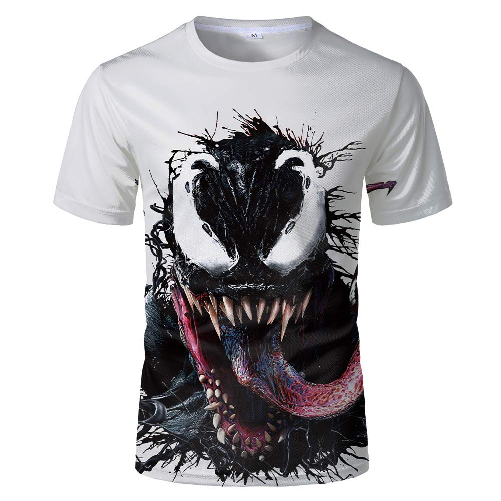 Venom Deadly Guardian Cinematic Universe Cool Mens Womens 3D Print Soft Pocket Long Sleeve Hoodie Sweater