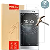 [2-Pack] Sony Xperia XA2 Screen Protector, PULEN 0.3MM Slim And 9H Hardness Tempered Glass [Anti-Scratch] [Bubble Free] Extreme Hardness with Lifetime Replacement Warranty