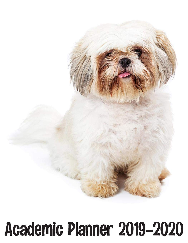 Academic Planner 2019 - 2020: Shi Tzu Dog Planner - Cute ...