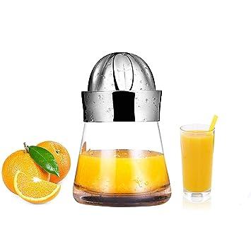 Exprimidor manual de mano de limón naranja, exprimidor de mano portátil, exprimidor de acero