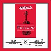D'Addario Prelude Cello Single C String, 1/4 Scale, Medium Tension