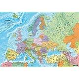 Europa politisch, Poster 1:6 Mio., Metallbestäbt in Rolle (freytag & berndt Poster + Markiertafeln)