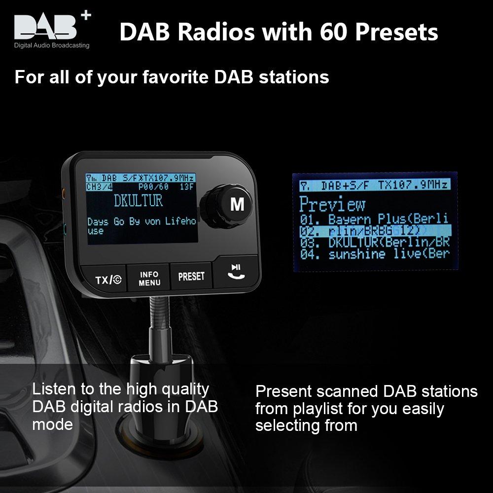 Dab Sender Karte.Uekars Im Auto Dab Dab Radio Adapter 2 3 Lcd Portable
