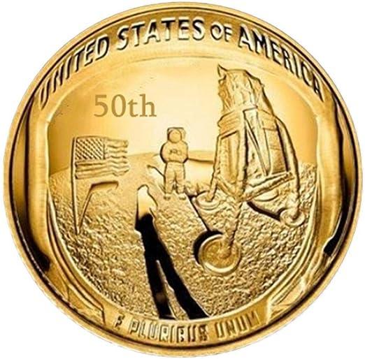 Womdee Apollo - Juego de 2 Monedas conmemorativas del 50 ...