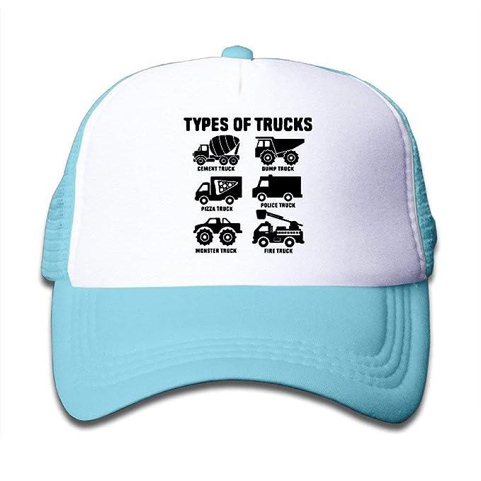 Bai Qian Tipos de Camiones Gorro de Malla Estilo Camionero ...