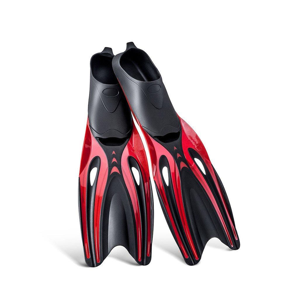 【福袋セール】 軽量ダイビングフィンスイミング用スノーケリングフィンシュノーケリング水泳アクティビティスイミングレッスン (色 : ブラック, サイズ : ブラック, Large|赤 M) B07F9TP1GK サイズ 赤 Large Large|赤, 岩手の麺工房粉夢:8125914b --- albertlynchs.com