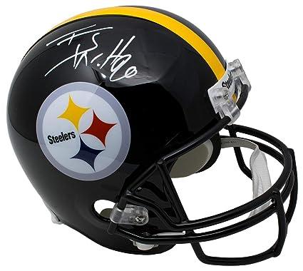cdee02ba5 Amazon.com  TJ Watt Signed Pittsburgh Steelers Full Size Replica ...