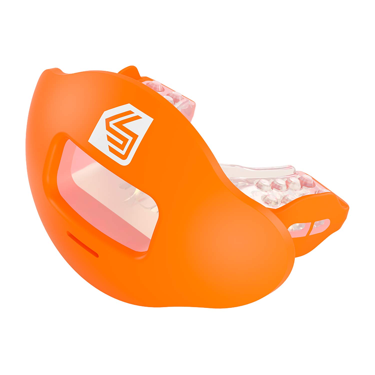 Shock Doctor Max Airflow 2.0 Lip Guard / Mouth Guard for Football 3500. For Youth and Adults OSFA. Breathable Wide Opening Mouthpiece. Helmet Strap Included. by Shock Doctor