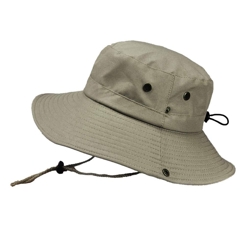 Outdoor Visor Male Mountaineering Hat Big Breathable Hat MenS Sun Protection Cap Uv Protection Fisherman Hat Travel Sun Visor Straw Hat Beach Hat Excellent Sun Uv Protection Strong Anti-Uv Function