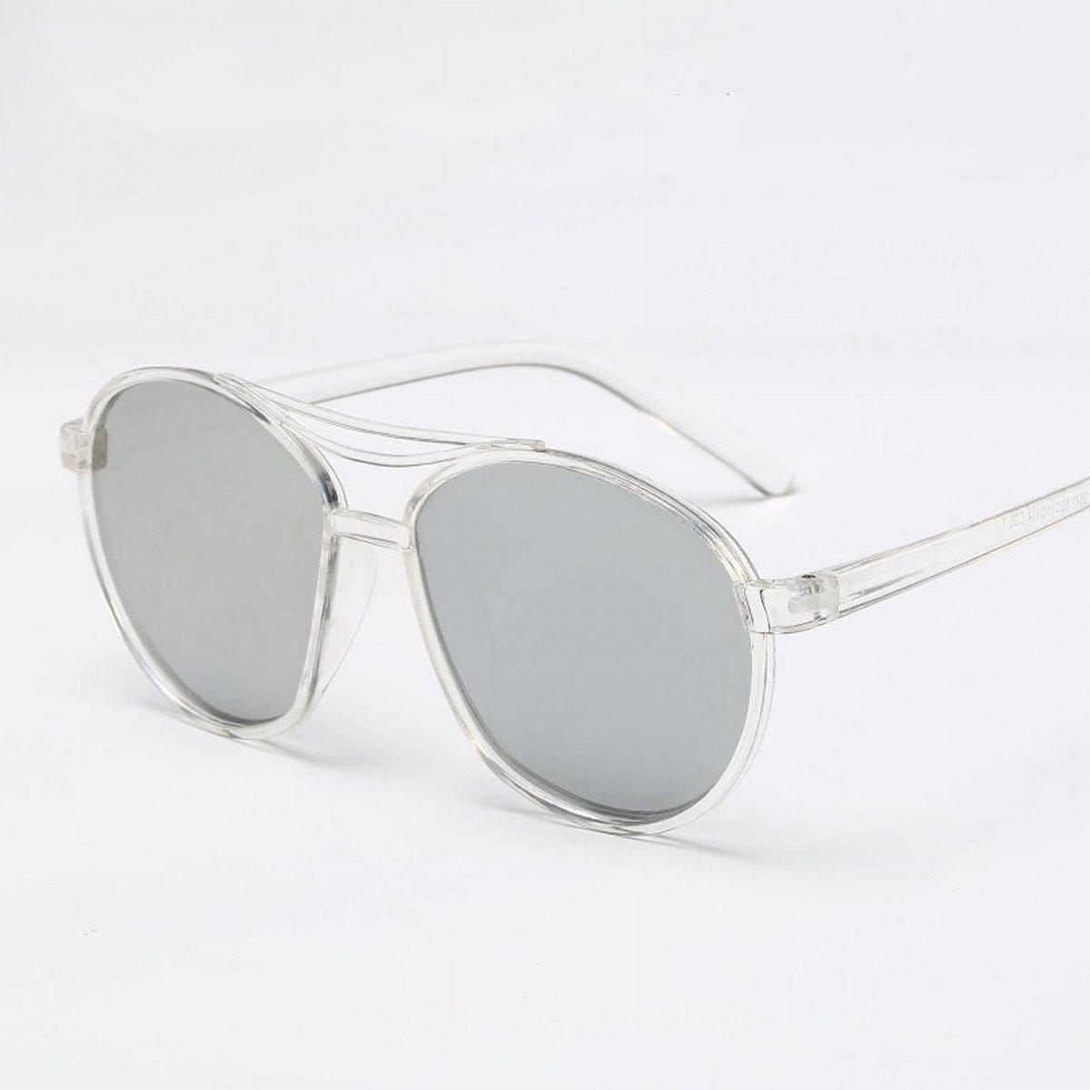 mode trimmen sonnenbrille Männer und frauen helle reflektierende Spiegel sonnenbrillen heller schwarzer rahmen t7XgvwG