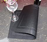 5 In the western restaurant dining mat back-double box the heat-resistant anti-slip PVC mat green room pad 3045cm, Gray