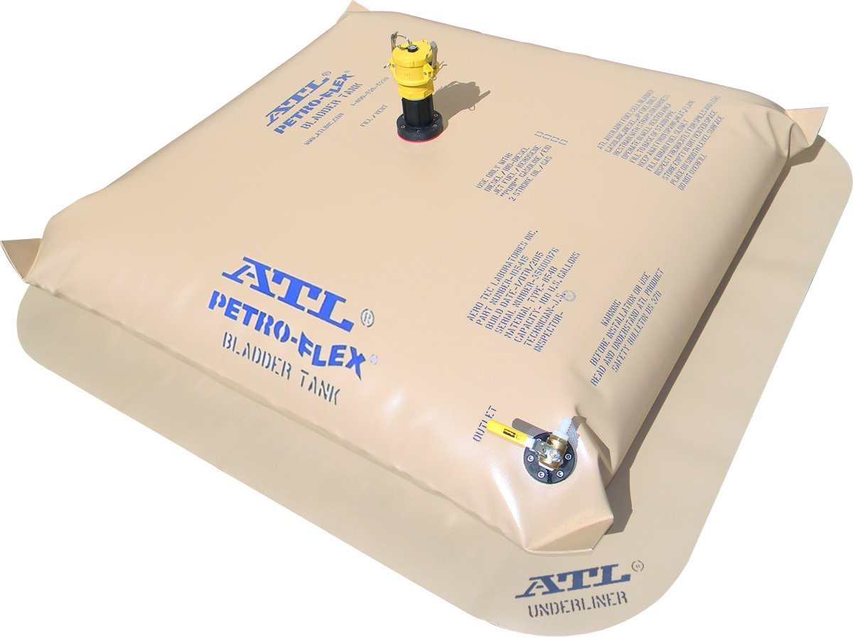 100 Gallon ATL Petro-Flex''Pillow-Style'' Marine Range Extension Fuel Bladder