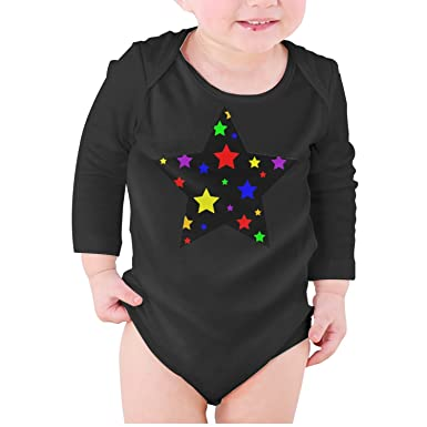 fcd888f59 Amazon.com  M2VIK9 Baby Romper Long Sleeve Clothes Jumpsuit Black ...