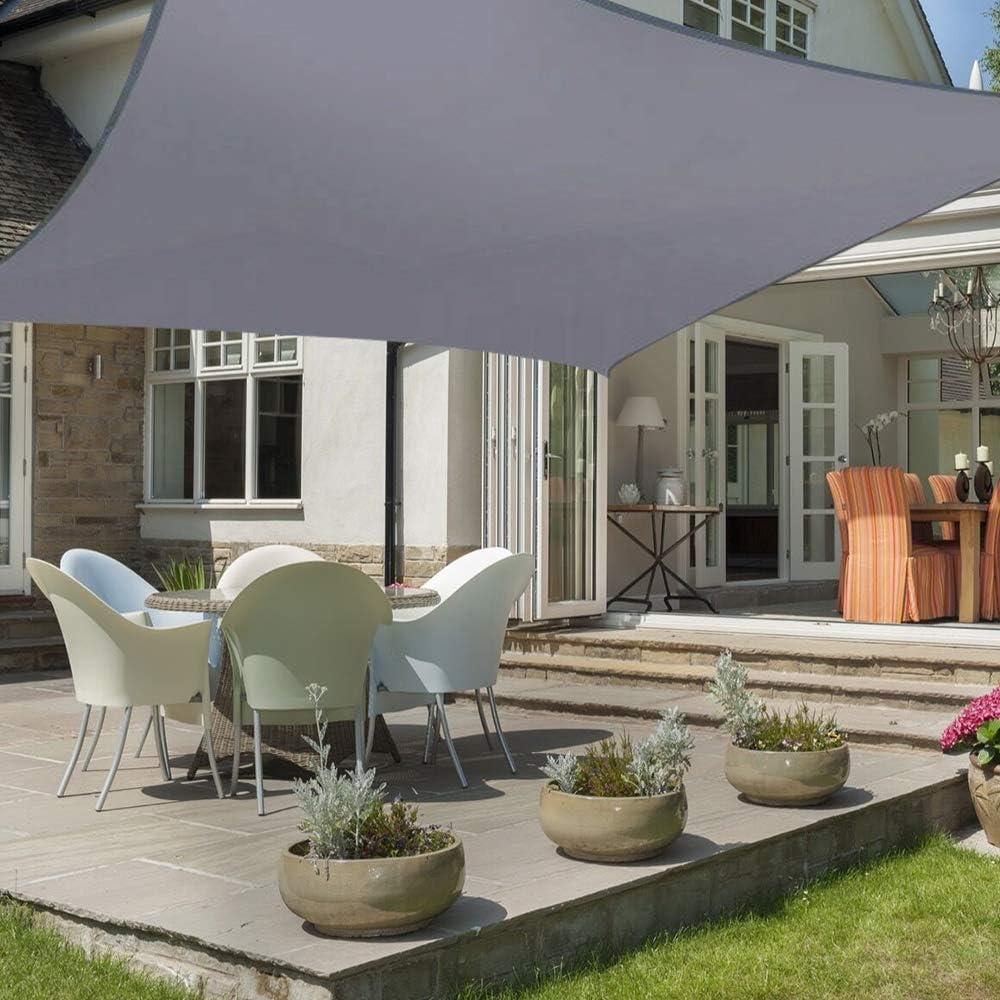 Sun Shade Rectangular Square Sails Waterproof Anti-Ultraviolet Carport Outdoor Shade Cover