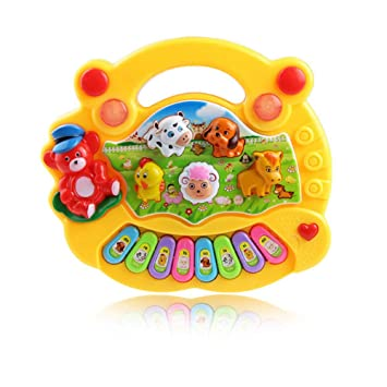 styleinside Piano Toy, Baby Electric Music Piano, Animal