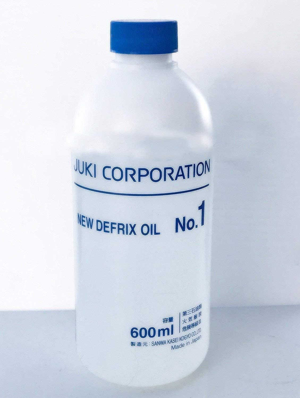 Juki Original Genuine Defrix Sewing Machine Oil (No.1) - 60ml Original Juki Oil (Japan Import) Juki Japan 4336998426