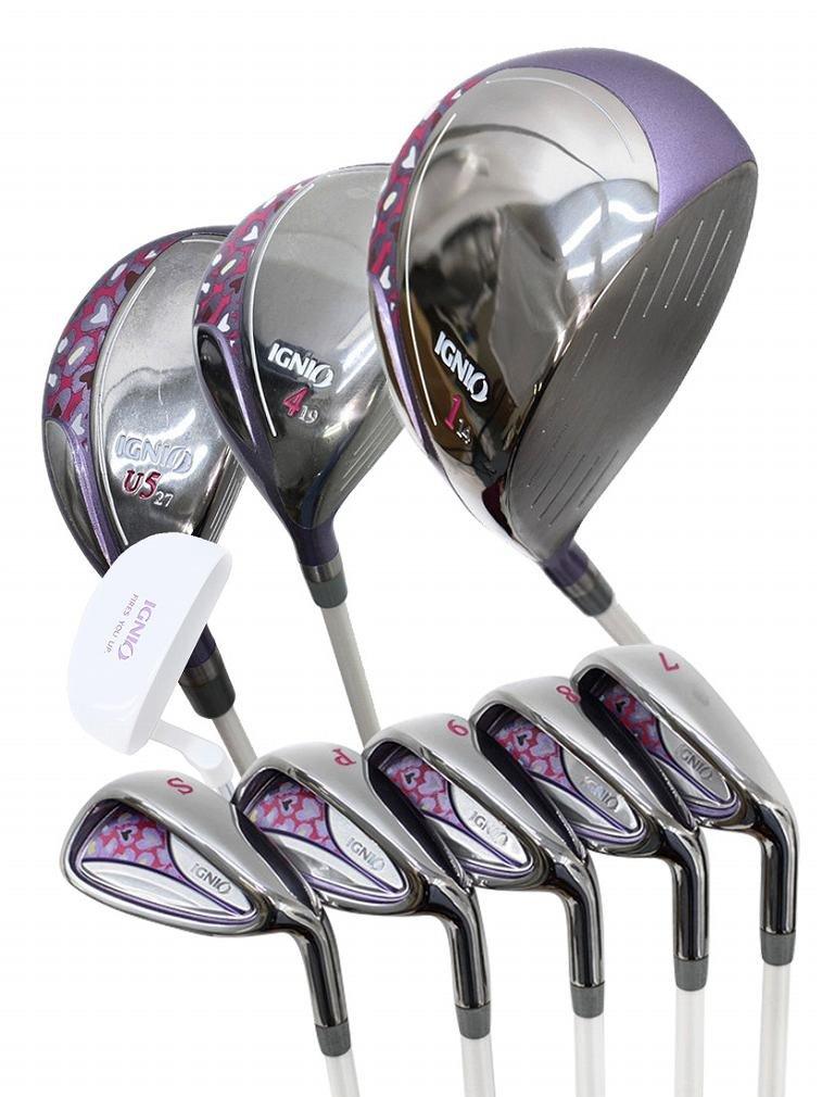 イグニオ(IGNIO) イグニオ(IGNIO) PU17 3X5P ゴルフクラブ 9本セット フルセット フルセット 3X5P レディース B07CLZKDHG, キクガワチョウ:3310876f --- cooleycoastrun.com