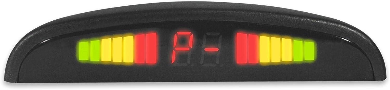komplettsystem mit mit 4 Sensoren Anzeige /über Display und zus/ätzlichem Wartnton JOM 7107 R/ückfahrt Warnsystem
