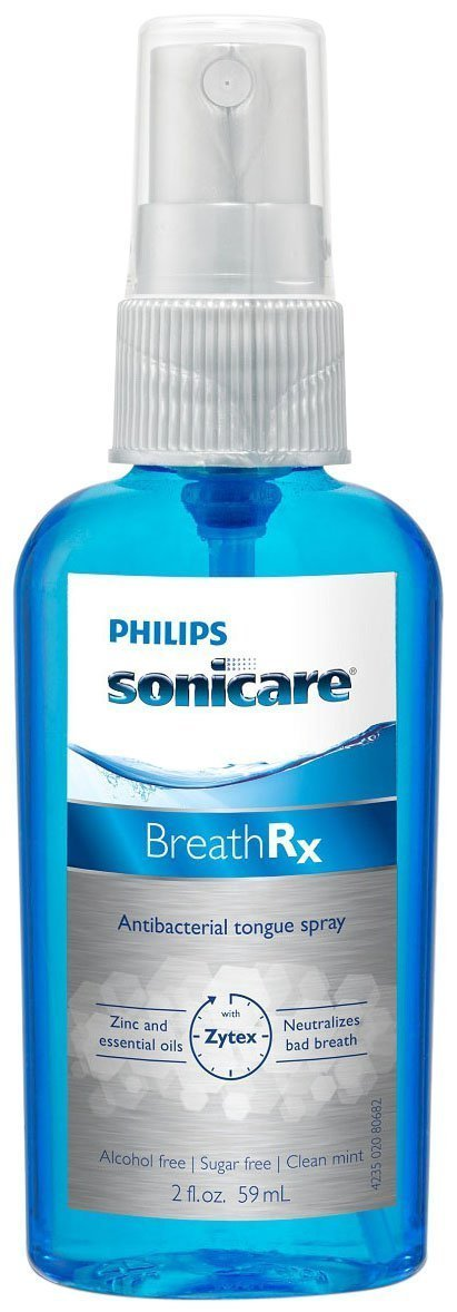 Philips Sonicare Breathrx Philips Sonicare BreathRx Daily Tongue Care Kit-  DIS359/03 (2oz bottle+2 Tongue Cleaners) by Philips (Image #4)