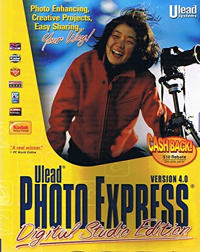 Ulead Photo Express, Digital Studio Edition, Version 4.0