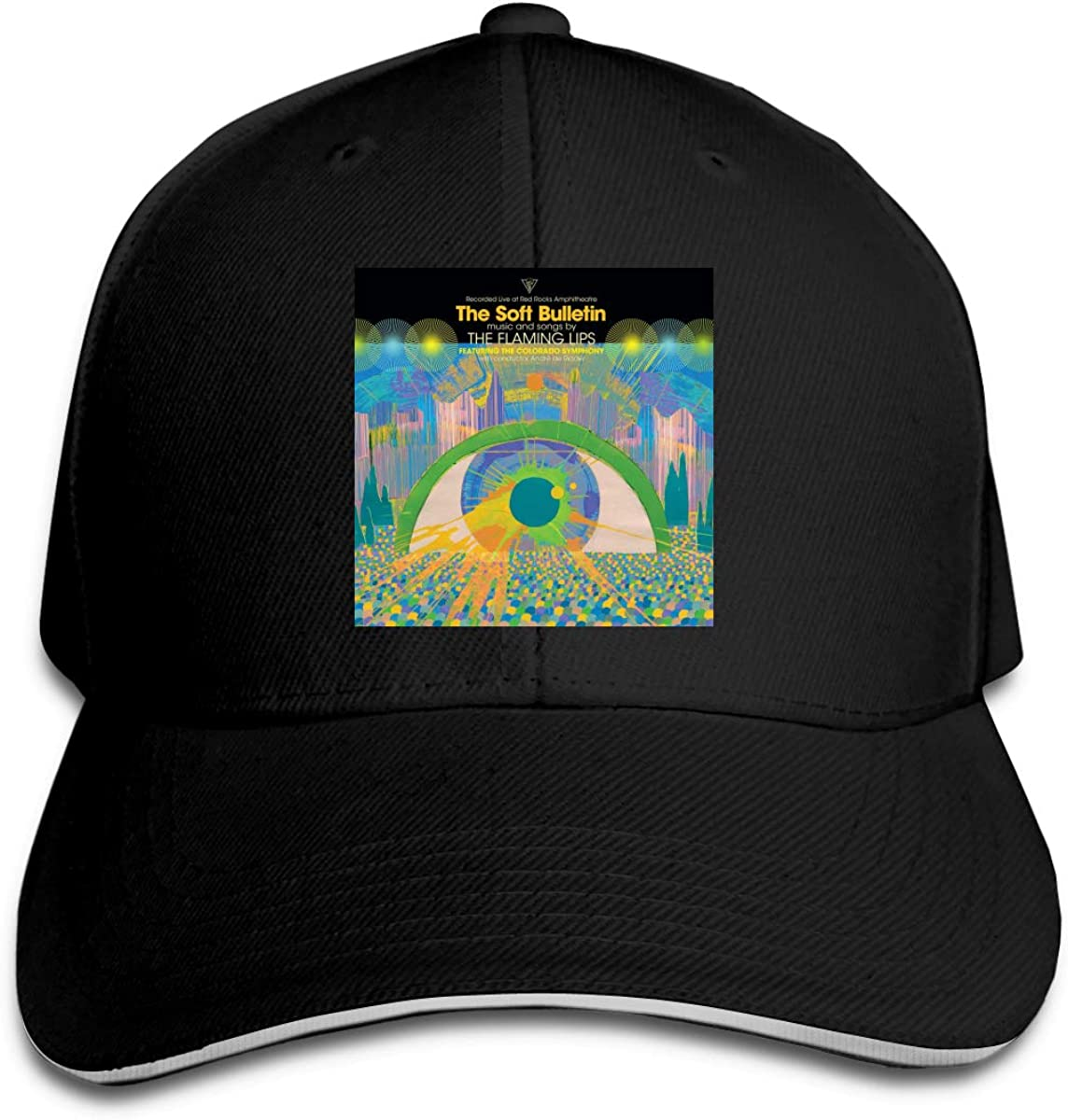 3D Printing Comfort for Men and Women The Flaming Lips Sandwich Cap Black