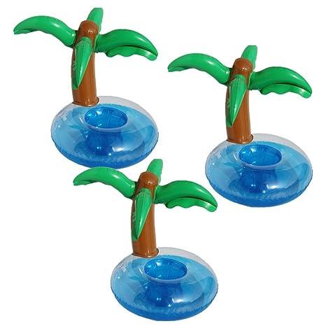 hinchable Soporte para bebidas, unicornio Palm Island ...