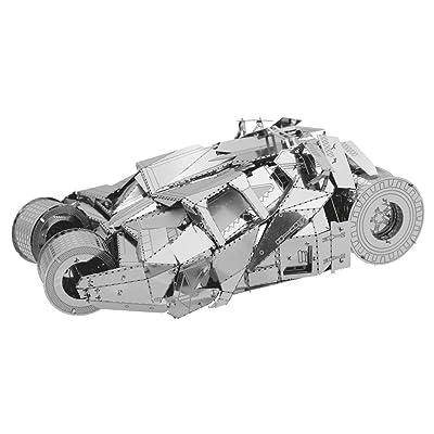 Batman- Universo DC Batmovil 2005 Metal Model Kit (SDTWRN89638): Juguetes y juegos