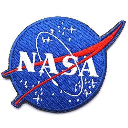 Nasa Space Program Vector Iron on Patches