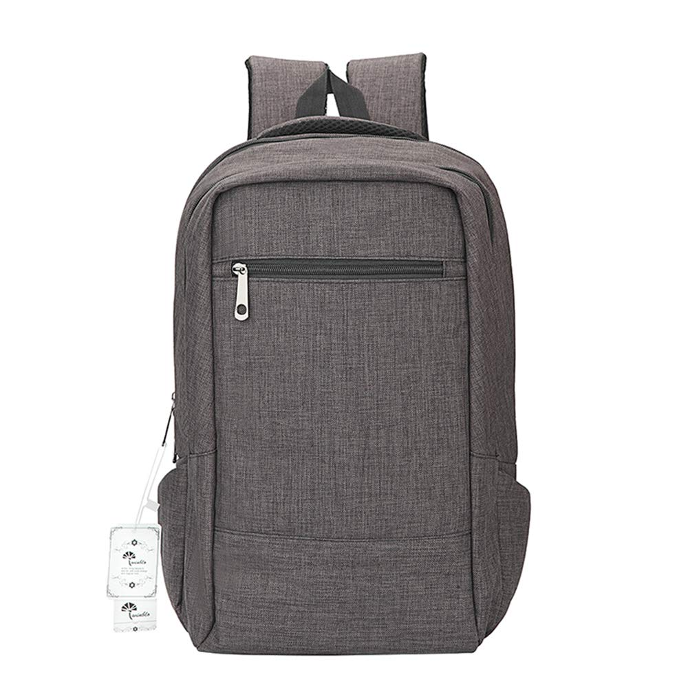 74f82d4010 Amazon.com: Laptop Backpack,Winblo 15 15.6 Inch College Backpacks  Lightweight Travel Daypack (Dark Grey): Computers & Accessories