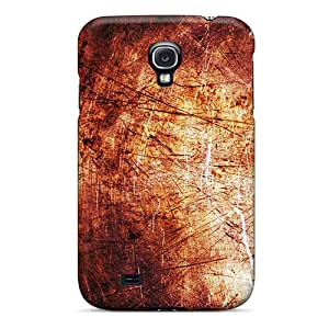 Anti-scratch And Shatterproof Red Rust Phone Case For Galaxy S4/ High Quality Tpu Case