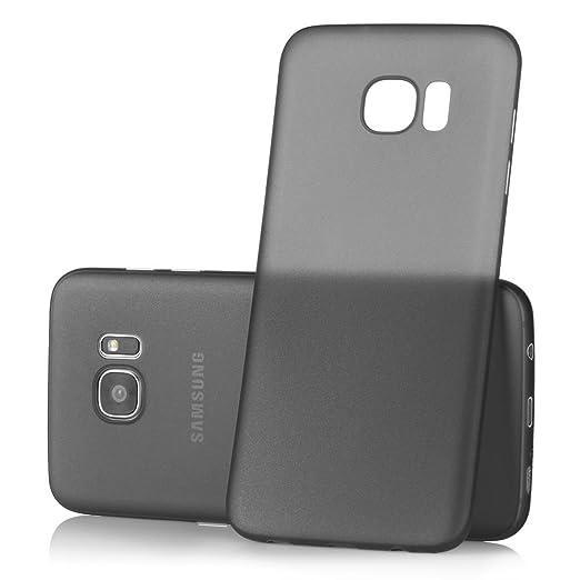 67 opinioni per Ultra Thin Case MC24® per Samsung Galaxy S7 Edge in nero- sottile custodia