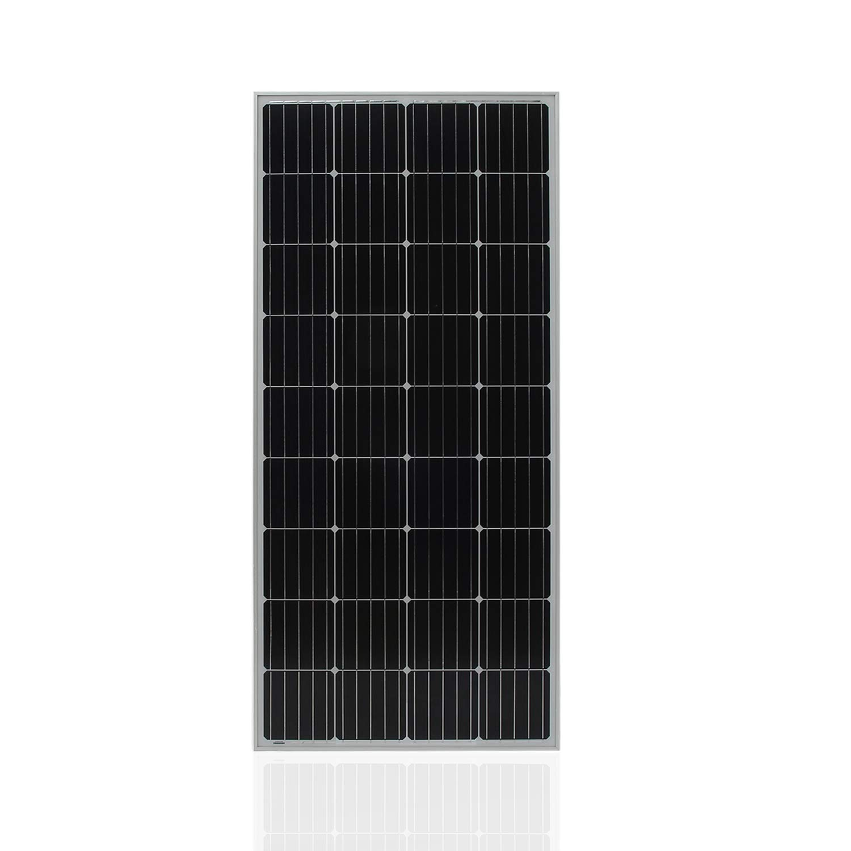 AMPM24US-US Universal Moncrystalline Solar Panel Module 170W Boat Solar Battery Charger Portable Car Solar Charging Device