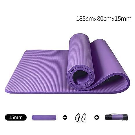 Amazon.com : EPTI Yoga Mat Yoga Mat 185Cm80Cm 15Mm Fitness ...