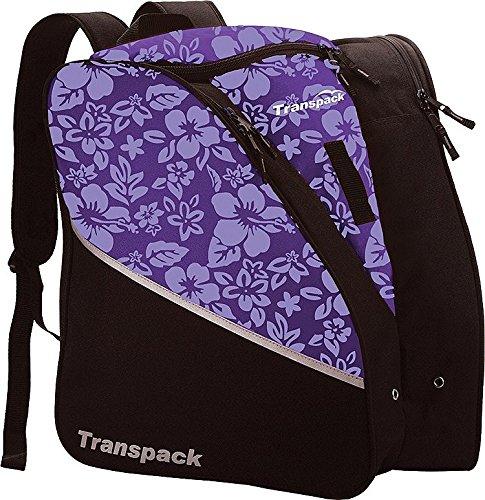 (Transpack Edge Junior Ski Boot Bag - Purple)