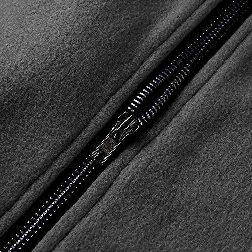 Blouson Poche À Hoodie Mode Veste Shobdw Molleton Tops Manteau Sans Casual Manches Pullover Hiver Gris Blouse Capuche Slim De Femme En Sweatshirt zwtxxq7g