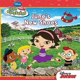 Disney S Little Einsteins June S New Shoes