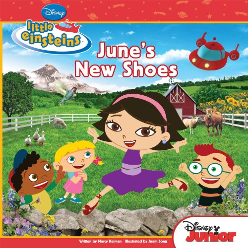Little Einsteins:  June's New Shoes (Disney Storybook (eBook))