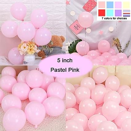Amazon.com: Tomandken Globos color pastel para fiesta, 100 ...
