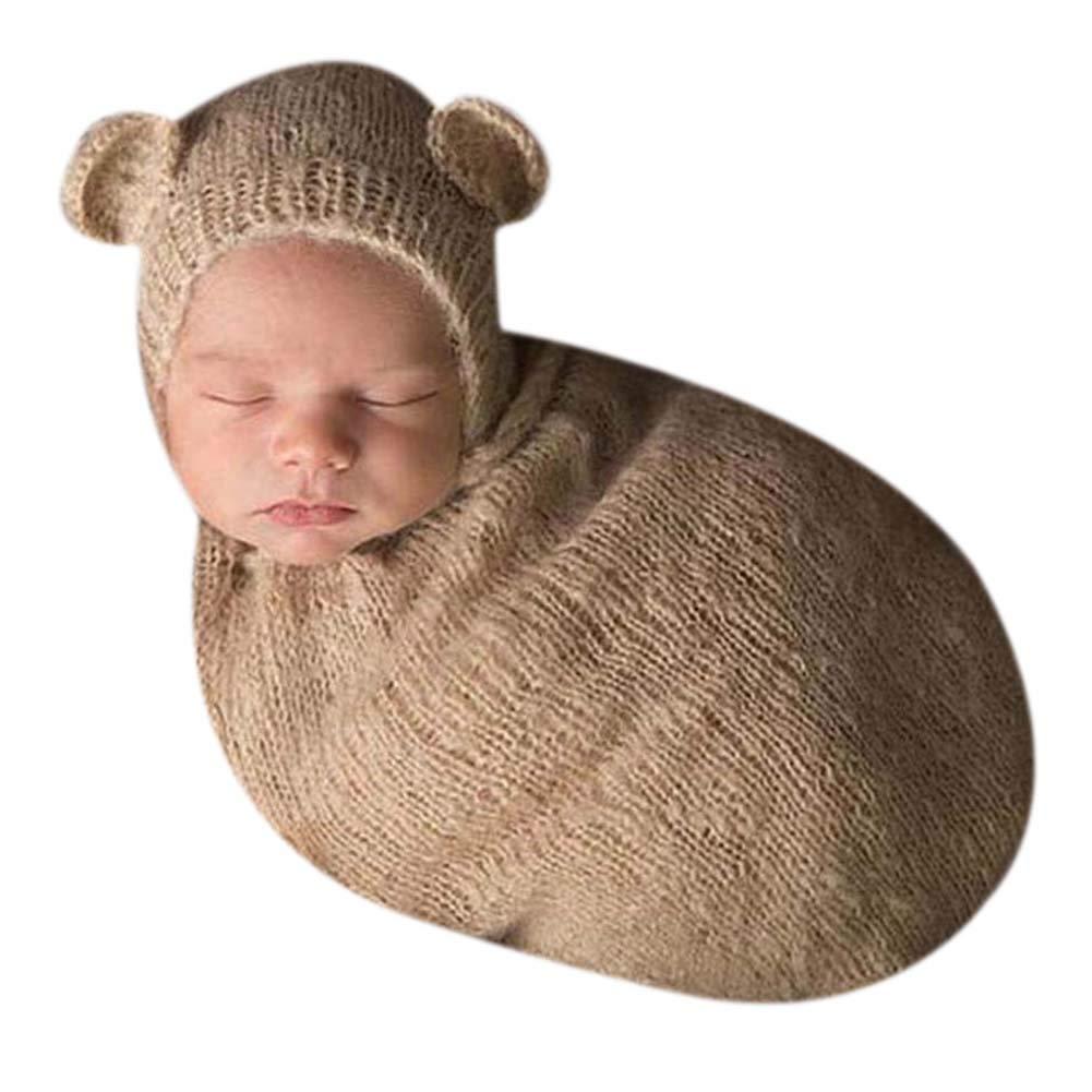 Handmade Cute Newborn Baby Photography Photo Props Boy Girl Outfits Cute Sleeping Bag