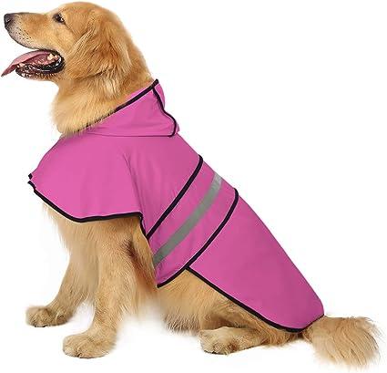 HDE Dog Raincoat