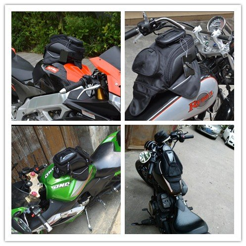 Niree Motorcycle Accessories Oil Fuel Tank Bag Magnet Pack MotoGear For GPS Or Cell Phone Waterproof Bag for Kawasaki Z1000 Z750R Z1000SX//NINJA 1000//Tourer ZX6R//636 ZX10R