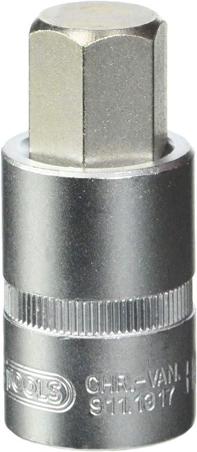 KS TOOLS 911.1317 Douilles tournevis 6 pans males KS, 12 . 17mm