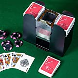 Trademark Global Trademark Poker 6 Deck Automatic Card Shuffler