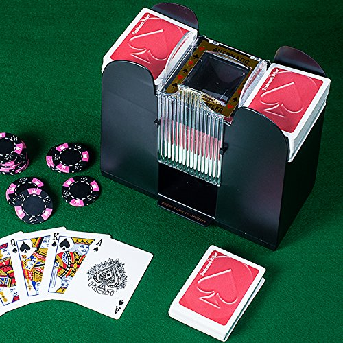 Trademark Global Trademark Poker 6 Deck Automatic Card Shuffler by Trademark Global
