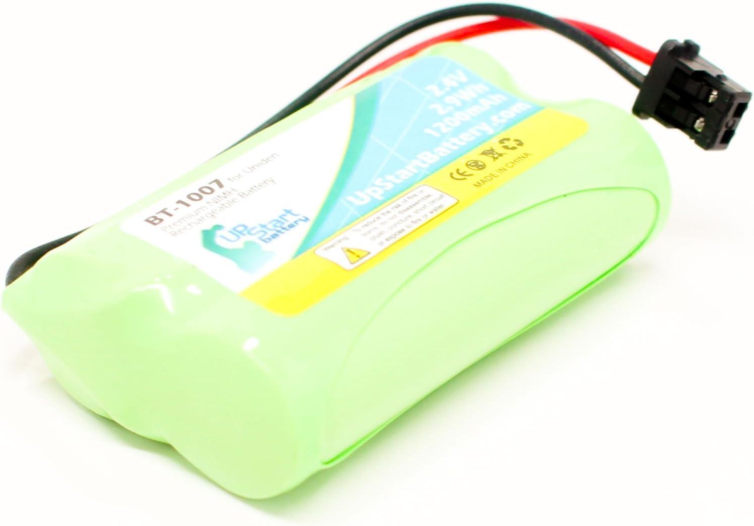 Uniden DECT1480–2–Batería de repuesto para UNIDEN BT-1007Teléfono inalámbrico recargable (1200mAh, 2,4V, Ni-MH)