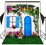 5x7ft Fresh Little Cottage Scenery Photo Backdrops CP Customized Studio CP Background Studio Props RM-015