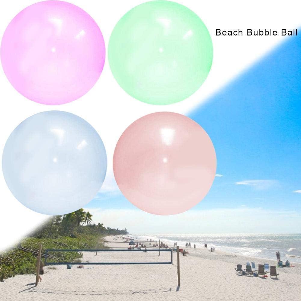 120cm Ball Wassergef/üllter Interaktiver Balloon f/ür Den Pool Geschenke Indoor-Aktivit/ä Partys josietomy Bubble Ball Aufblasbare Wasserball Strand